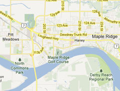 Maple Ridge Map