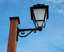 Home lamp post