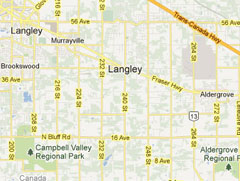 Langley Map