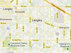Langley Map