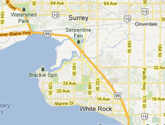 Surrey Map