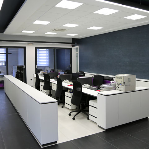 Commercial Lighting Installation at Coquitlam Office