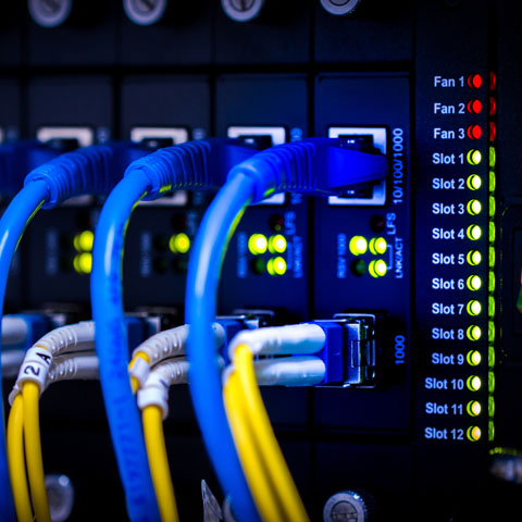 ProAmp Electric Coquitlam network installation and cabling
