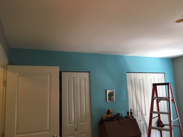 Closet Pot Light Installation – Before
