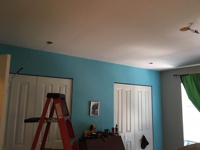 Closet Pot Light Installation – Process
