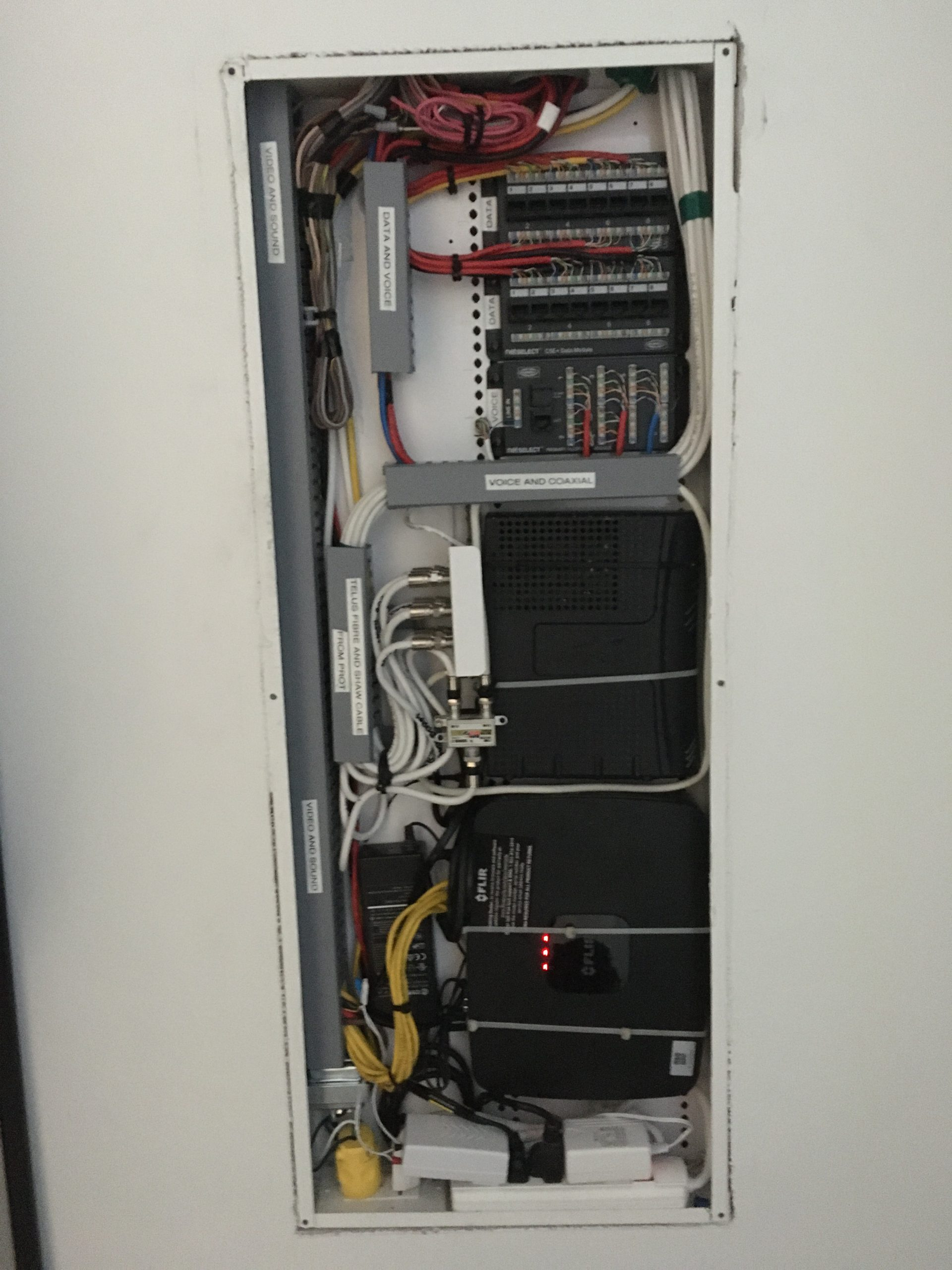 smart home panel after ProAmp Electric specialist Coquitlam